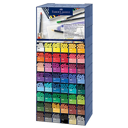 Goldfaber Colored Pencil Assortment Display