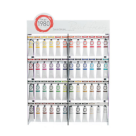 1980 Oil Colors 150ml 24-Color Supplemental Assortment Display