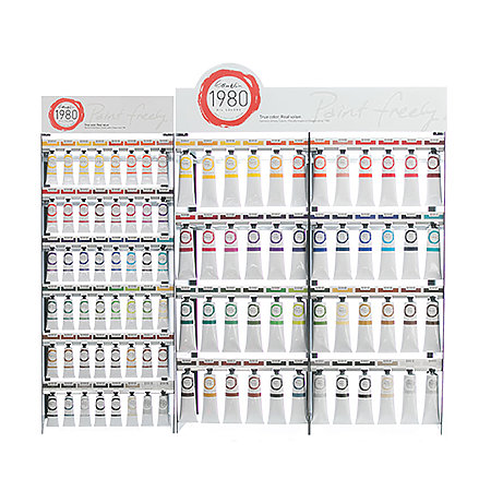 1980 Oil Colors Complete Assortment Display