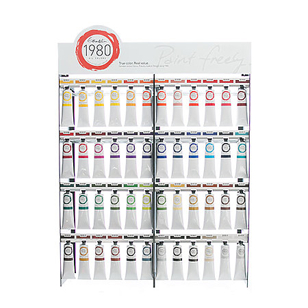1980 Oil Colors 150ml 48-Color Assortment Display