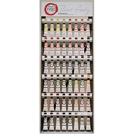 1980 Oil Colors 37ml 48-Color Assortment Display