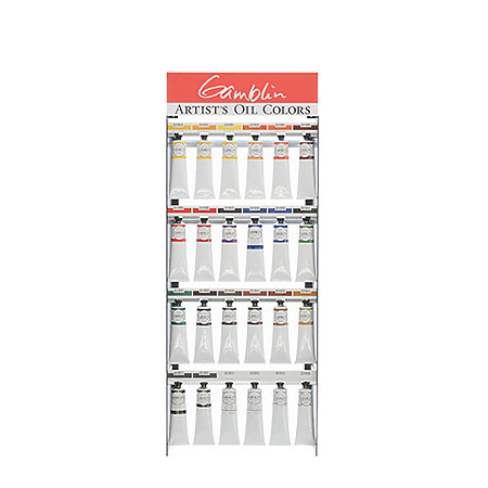 Artist Grade Oil 24-Color 150ml Assortment Display