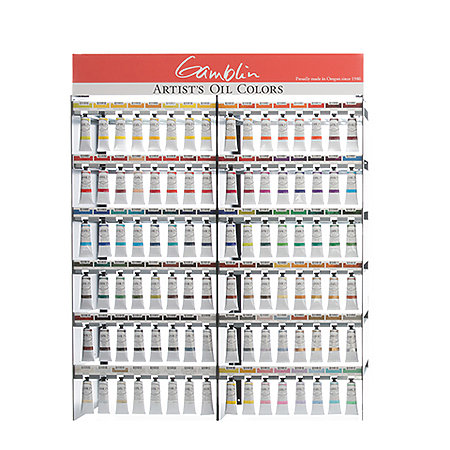 Artist Grade Oil 37ml Full Assortment Display