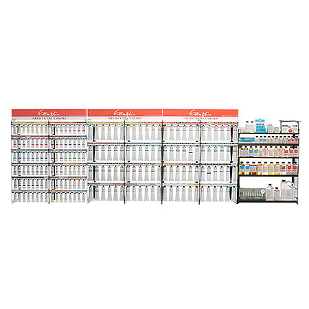 Artist Grade 37ml and 150ml 96-Color Full Assortment Display