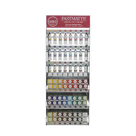 FastMatte 37ml & 150ml Full Assortment Display