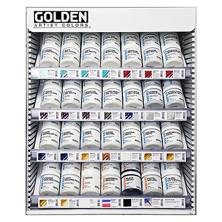 Gel & Grounds 8 oz. Assortment Display - 28 Facings