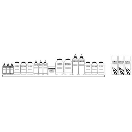Mediums & Varnishes - Assortment Display