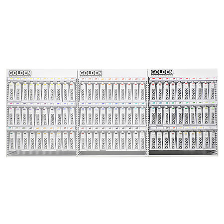 Heavy Body 5 oz. Assortment Display - Part C - 30 Facings