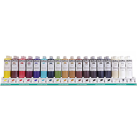 Fluid Acrylics 16 oz. Bottles Assortment 18 Facings