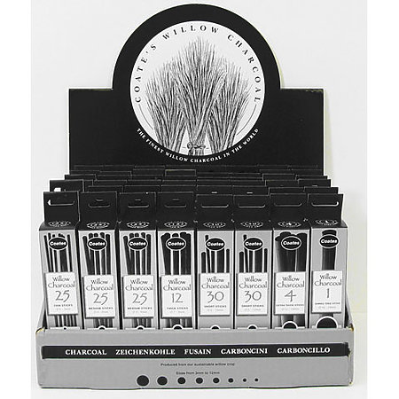 PH Coate Willow Charcoal Counter Display