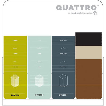 Quattro Original Journal Assortment Display