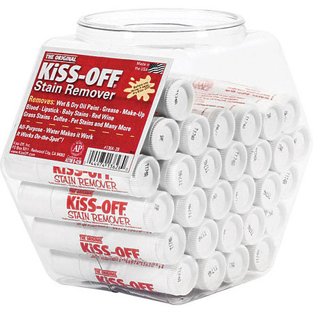Kiss-Off Stain Remover 28-Piece Display Tub