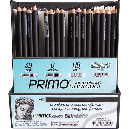 Primo Euro Blend Charcoal 4-Degree Assortment Display