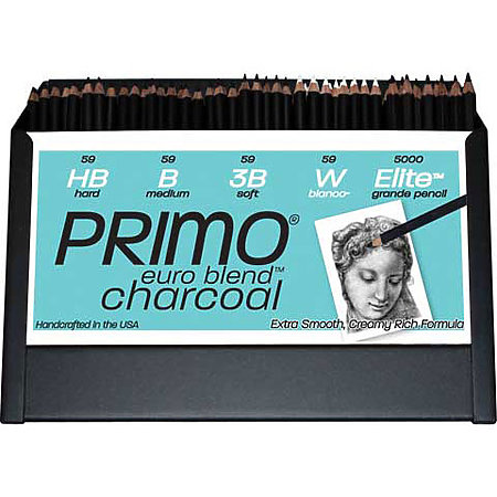 Primo Euro Blend Charcoal Assortment Display