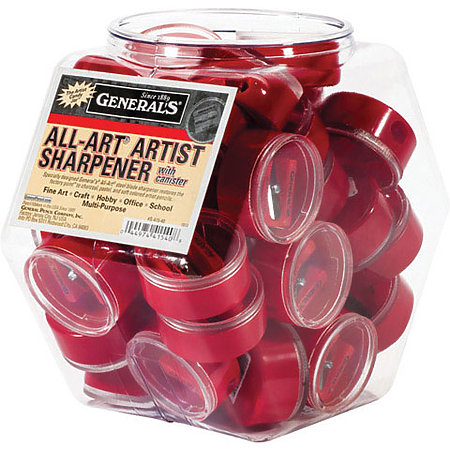 Little Red All Art Sharpener w/ Canister Display Tub