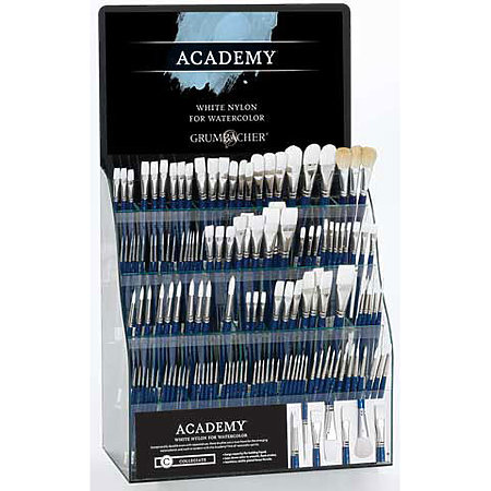 Academy Watercolor Brush Assortment Display