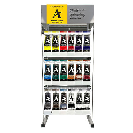 Academy Oils 150ml Assortment Display