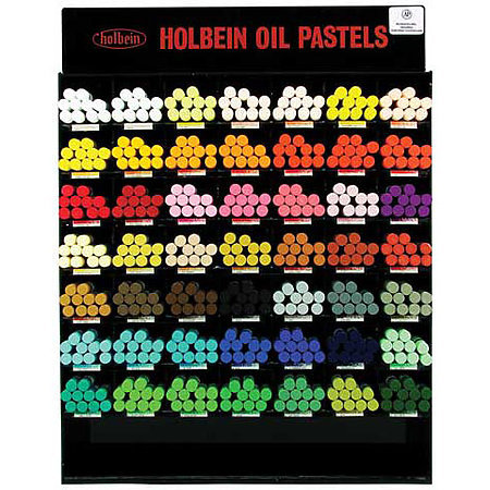 Academic Oil Pastel Assortment Display