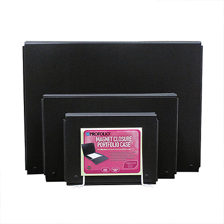 ProFolio Magnet Closure Portfolio Case Assortment Display