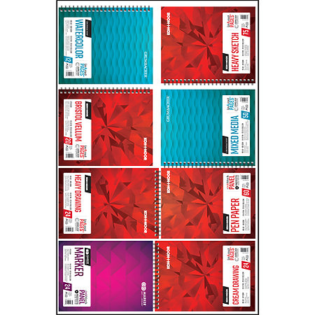 "Assorted Pad Assortment   9"" x 12"""