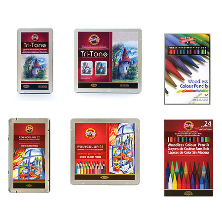 Colored Pencil Sets Assortment