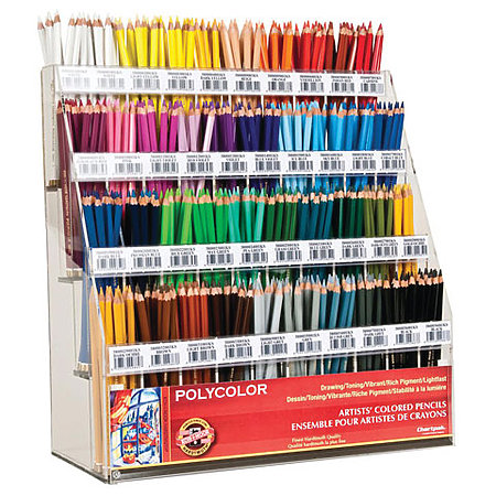 Polycolor Colored Pencil Half Assortment Display