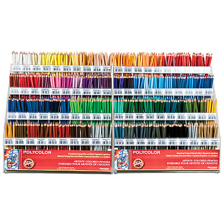 Polycolor Colored Pencil Full Assortment Display