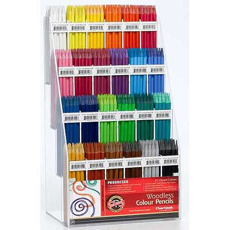 Woodless Colored Pencil Assortment Display
