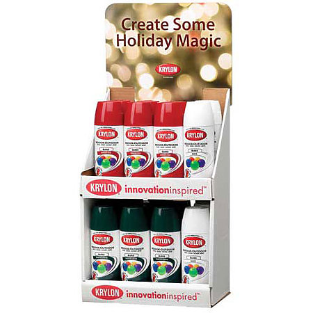 Holiday Colors Countertop Assortment Display