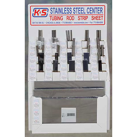 Stainless Steel Center Assortment Display