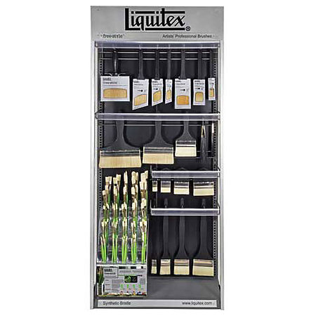 Freestyle Brush Complete Assortment & Display