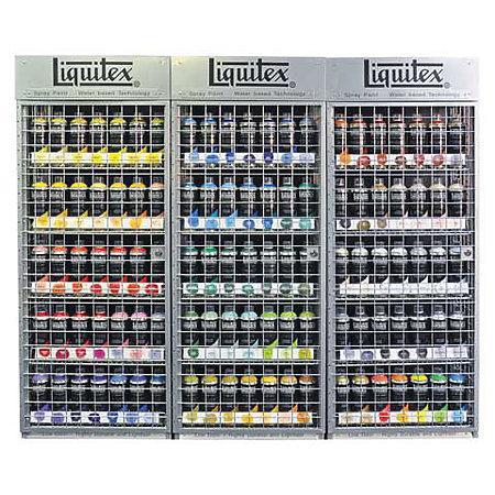 Professional Spray Paint Shelf Ortment Display