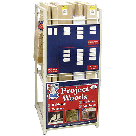 Balsa, Basswood, Craft Plywood Assortment & Display