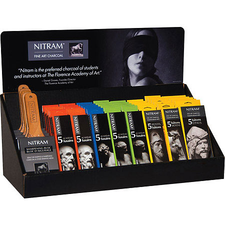 Nitram Charcoal Assortment Display