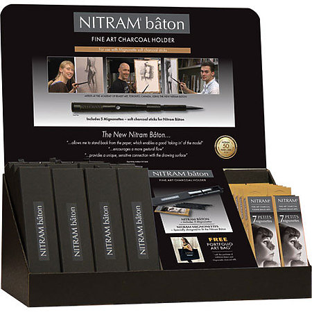 Nitram Baton Assortment Display