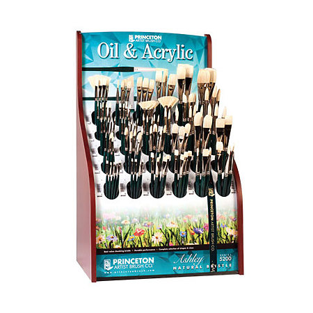 Ashley Natural Bristle Series 5200 Assortment Display
