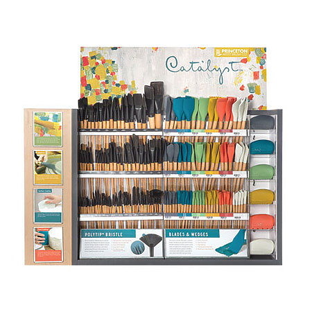 Catalyst Brush, Blades & Wedges Assortment Display