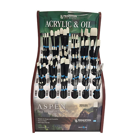 Aspen Brushes Assortment Display