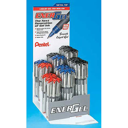 EnerGel Refillable Assortment Display