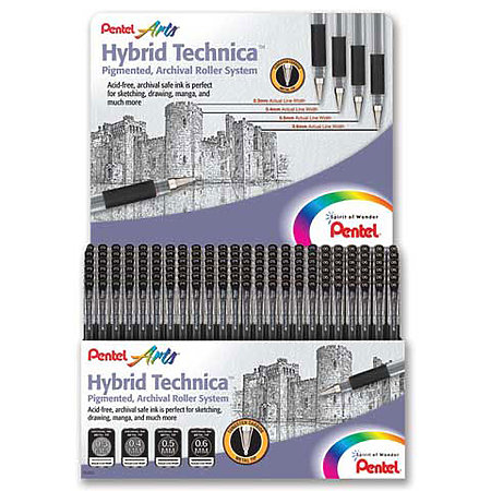 Hybrid Technica Assortment Display - 12-Dozen