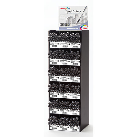 Hybrid Technica Pens Tower Assortment Display