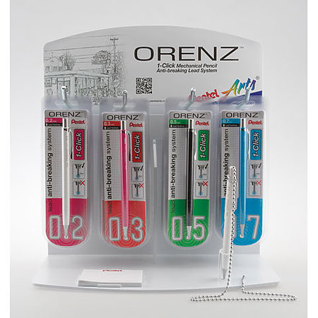 Orenz Mechanical Pencil Assortment Display