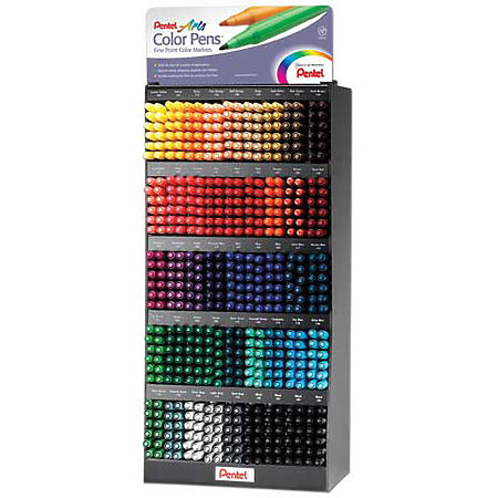 Color Pen Assortment Display - 45-Dozen