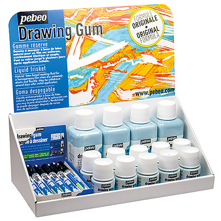 Drawing Gum Counter Assortment Display