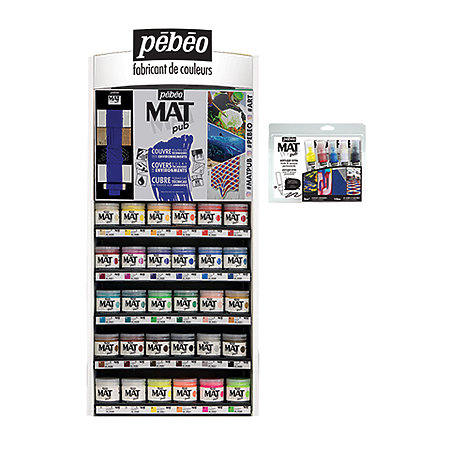 Acrylic Mat Pub 140ml Jars & Discovery Sets Countertop Assortment Display