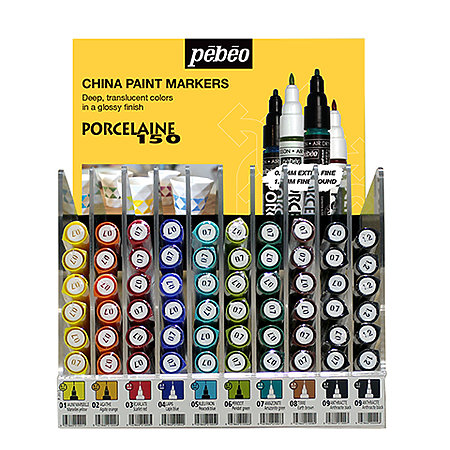 Porcelaine 150 Marker Single Mini Counter Assortment Display