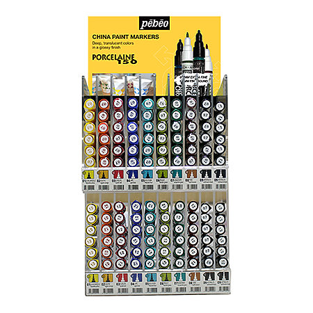 Porcelaine 150 Marker Double Mini Counter Assortment Display
