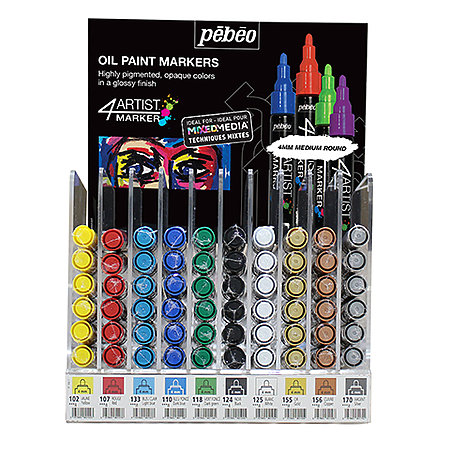 4ARTIST Oil-Based Marker   Mini Counter Assortment Display