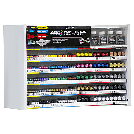 4ARTIST Oil-Based Marker   Short Assortment Display