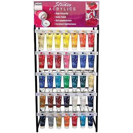 Studio Acrylics 100ml Assortment Display - Single